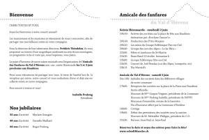 programme concert site